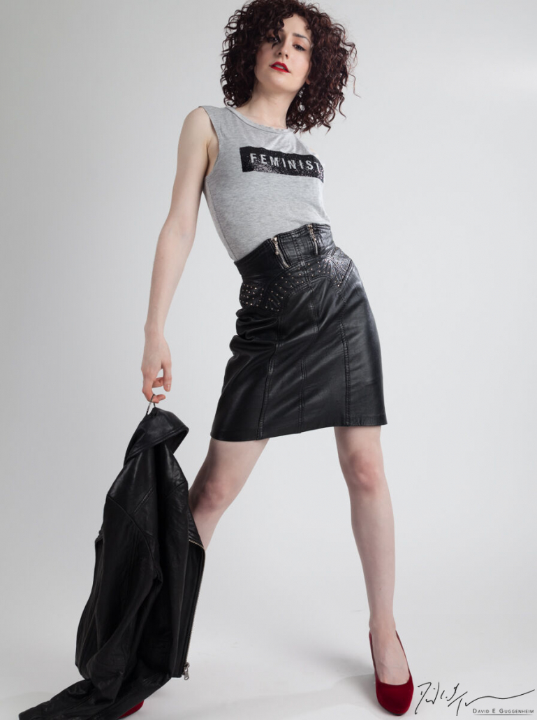 """Feminist"" - Commercial Fashion Photography (Model: Clara Cardinale)"
